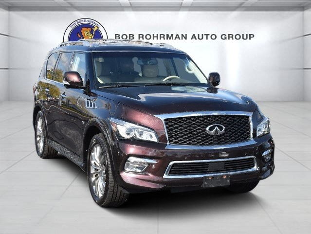 Pre-Owned 2016 INFINITI QX80 Luxe