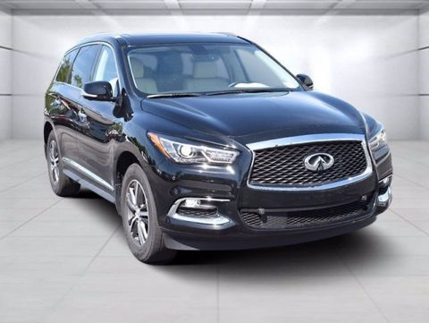 Certified Pre-Owned 2017 INFINITI QX60 Driver Assist