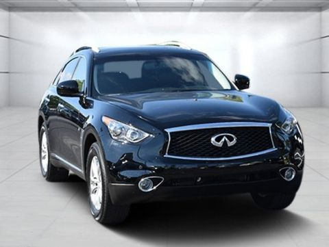 Certified Pre-Owned 2017 INFINITI QX70 Premium Package